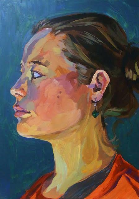 Portraits an der Kunstschule