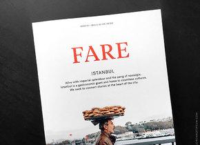 FARE Magazine: Im Herzen Istanbuls
