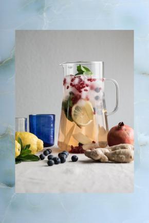 Ingwer Granatapfel Limonade