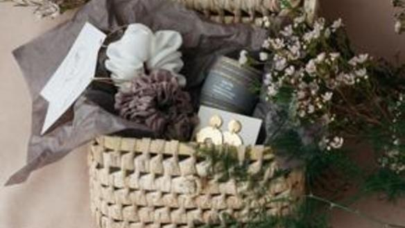 Christmas Gift Baskets from Home & Fleur