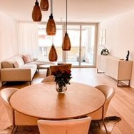 Modern-furnished apartment for nature lovers but still close to the Zurich city.